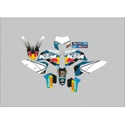 Kit Adhesivos KTM Kini Celeste