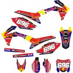 Kit Adhesivos Honda Red Bull II