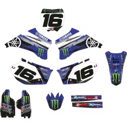 Kit Adhesivos Yamaha Monster