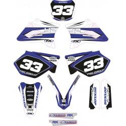 Kit Adhesivos Yamaha White