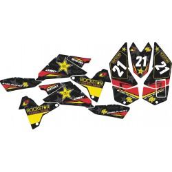 Kit Adhesivos LTR 450 Rockstar Negro