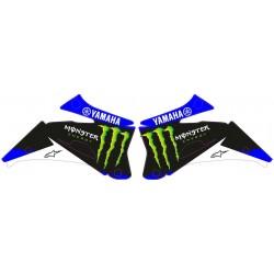 Adhesivos Tapas Radiador  Yamaha Monster