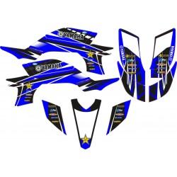 Kit Adhesivos YFZ 450 2003-08 Rockstar Azul