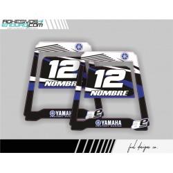 Adhesivos Yamaha Caballete Polisport
