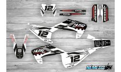 Kit Adhesivos Husqvarna TE-FE 2017-18 Racing!!! Negro/Blanco
