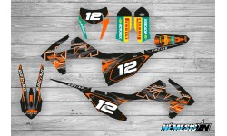 Kit Adhesivos KTM EXC / SX / SXF 2017 Black