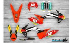 Kit Adhesivos KTM Factory Negro