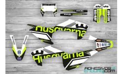 Kit Adhesivos Husqvarna TE-FE 2017-19 Edition Negro/Lima