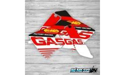 Adhesivos Tapas Radiador GasGas Factory Racing