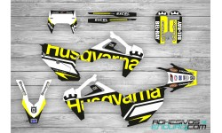 Kit Adhesivos Husqvarna Edition Negro-Amarillo Te/Fe 2020