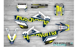 Kit Adhesivos Husqvarna Edition Azul-Amarillo Te/Fe 2020