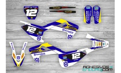 Kit Adhesivos Husqvarna TE-FE 2017-19 RS Azul