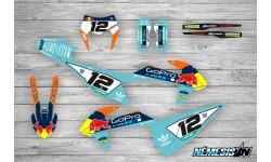 Kit Adhesivos KTM EXC 2020 GoPro Turquesa