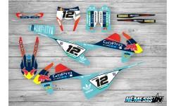 Kit Adhesivos KTM EXC / SX 2017-18 GoPro Turquesa