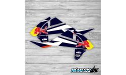 Adhesivos Tapas Radiador  KTM Red Bull AZ EXC 2017/2019