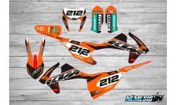 Kit Adhesivos KTM EXC / SX / SXF 2017 Némesis 2