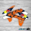 Adhesivos Tapas Radiador KTM Red Bull II
