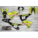 Kit Adhesivos GasGas EC 2021 Racing!!! Negro/Lima