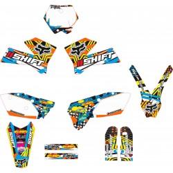 Kit Adhesivos KTM Fox Shift Naranja